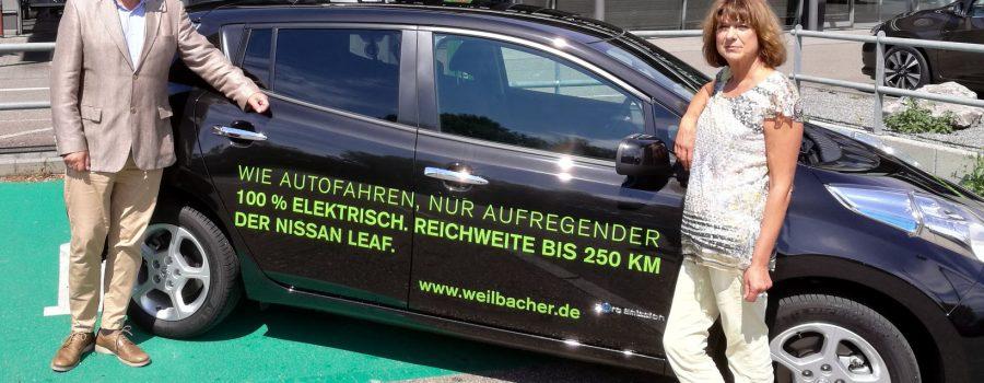 Zum Gardasee mit dem Elektroauto – Mit einem NISSAN Leaf* 100 % elektrisch von Heilbronn nach Bardolino am Gardasee