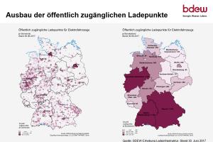 Deutschlands Top 10 beim Ausbau der Ladeinfrastruktur in den Städten