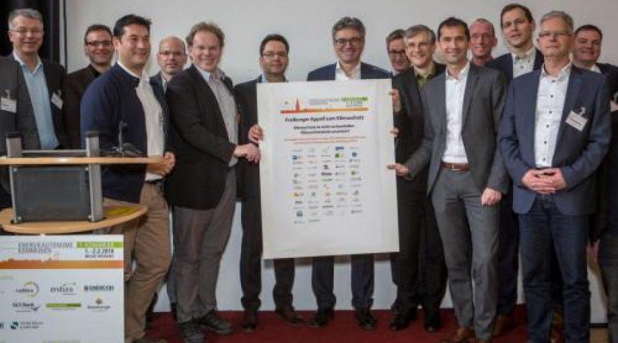 "Elektromobilität Heilbronn-Franken e.V. beteiligt sich am ""Freiburger Appel zum Klimaschutz"""