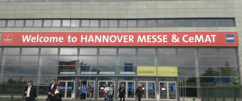 Der Verein EHF auf der Exkursion zur Hannover Industrie Messe