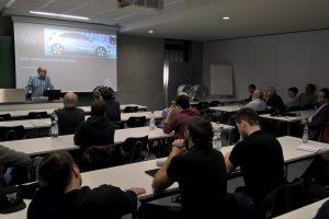 Dr. Günter Leister (Mercedes-Benz) zu Gast im AK Forschung