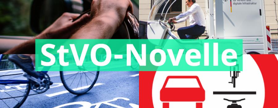 StVO-Novelle: Neue Regeln für klimafreundlicheren Verkehr